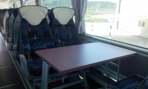 Mesas de juego-Autobuses Zaragoza